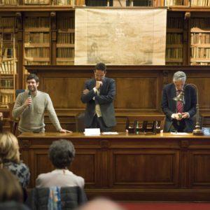 2018_12_10 Biblioteca Angelica - Omero nel Baltico - Felice Vinci-9894