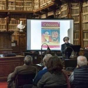 2018_12_10 Biblioteca Angelica - Omero nel Baltico - Felice Vinci-9923